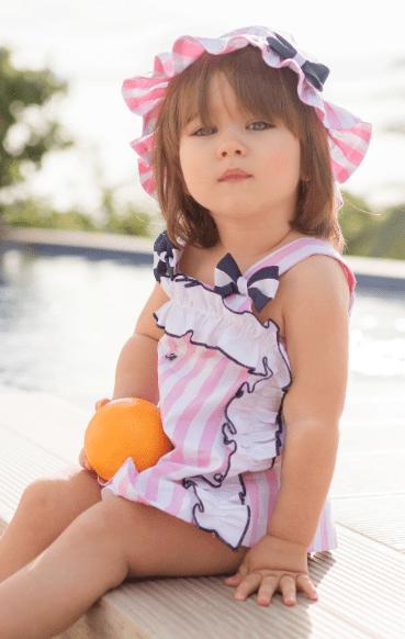 Vestido baño / playa bebé niña Miranda