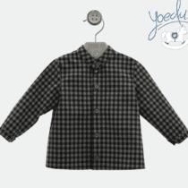 Camisa a cuadros bebé niño Yoedu t