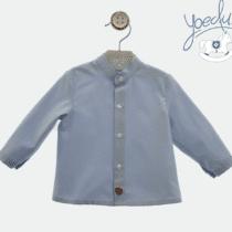 Camisa bebé niño Yoedu Celeste